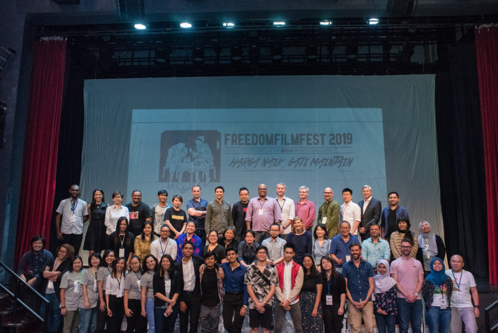 FreedomFilmFest 2019 saw over 4,000 tickets sold over a week.