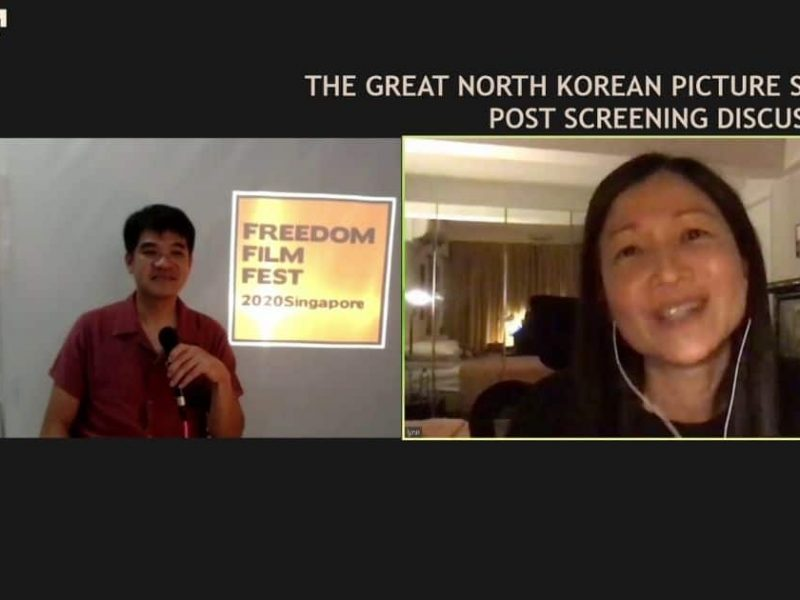 The Great North Korean Picture Show, post-screening discussion